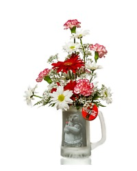 Coke Bear Mug Bouquet