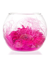 Perfectly Pink Bubble Bowl