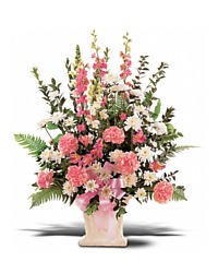 Pink and White Arrangement