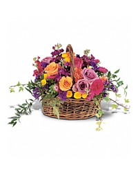 Garden Flowers Basket