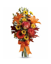Fall Vase Arrangement