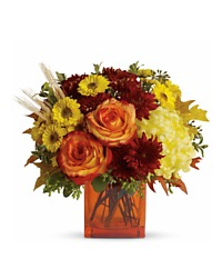 Autumn Vase Arrangement