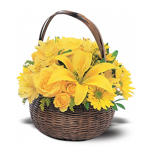 Yellow Basket