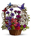 Basket Arrangement Of Flowers