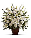 Sympathy Spray Arrangement