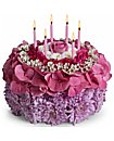 Flower Birthday Cake