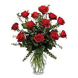 Same Day Flower Delivery - Roses from the Heart